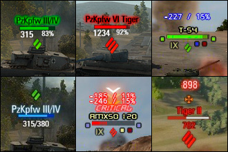 XVM 5.3.5 (Оленеметр) для World of Tanks 0.9.13 (WOT)